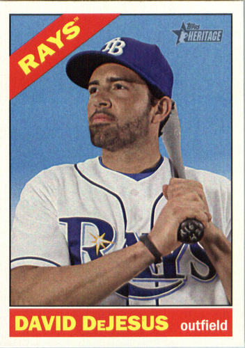Photo of 2015 Topps Heritage #686 David DeJesus