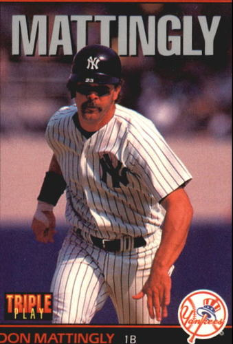 Photo of 1993 Triple Play #120 Don Mattingly