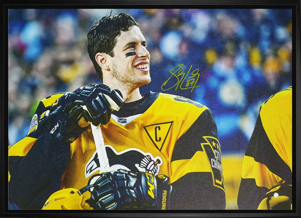 Sidney Crosby - Signed and Framed 20x29