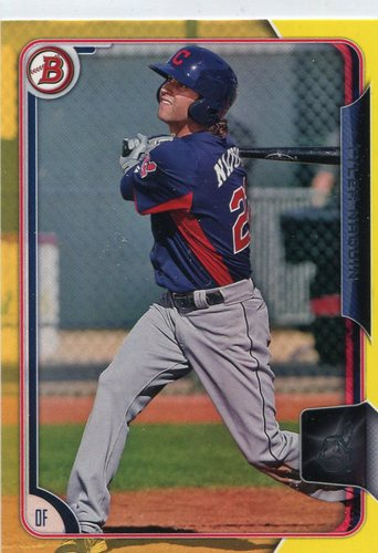 Photo of 2015 Bowman Prospects Yellow #BP89 Tyler Naquin