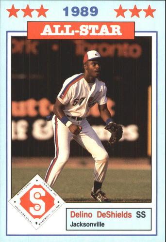 Photo of 1989 Southern League All-Stars Jennings #5 Delino DeShields