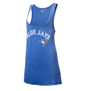 Toronto Blue Jays Women's Spray Wash Tank by 5th & Ocean