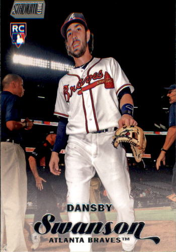 Photo of 2017 Stadium Club #20 Dansby Swanson Rookie Card