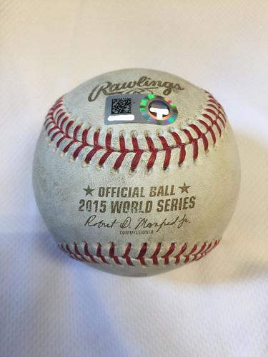 Photo of 2015 World Series Game 5: Matt Harvey Pitch to Alcides Escobar, Top 6th Inning - November 1, 2015 at Citi Field