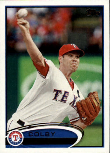 Photo of 2012 Topps #18 Colby Lewis