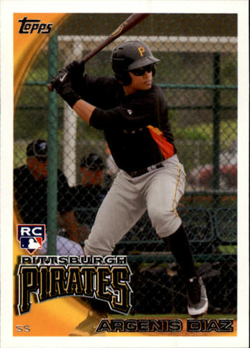 Photo of 2010 Topps Update #US147 Argenis Diaz RC