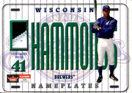 Photo of 2001 Fleer Platinum Nameplates #13 Jeffrey Hammonds/135