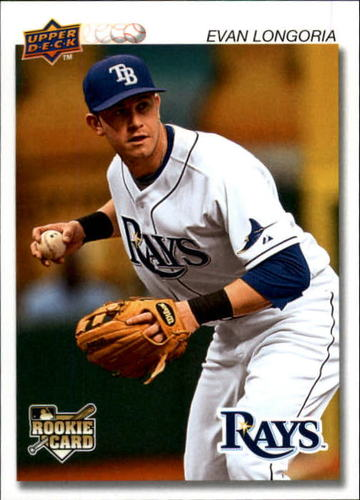 Photo of 2008 Upper Deck Timeline #113 Evan Longoria 92 ML RC