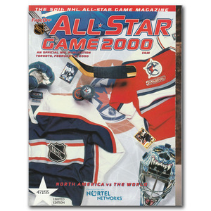 2000 NHL All-Star Game Limited-Edition Official Game Program - Toronto Maple Leafs