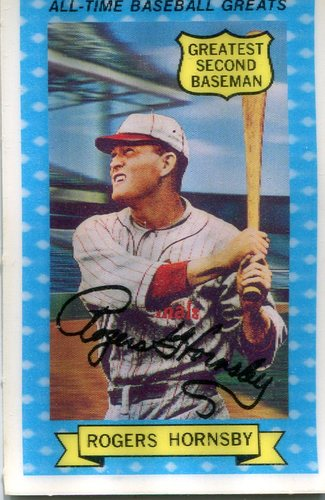Photo of 1972 Kellogg's ATG #2 Rogers Hornsby
