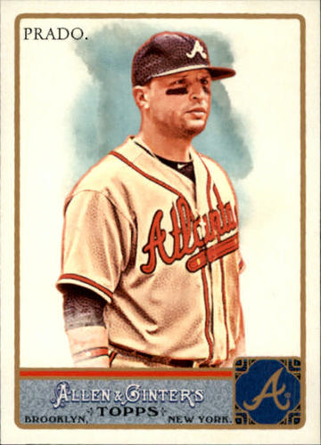 Photo of 2011 Topps Allen and Ginter #109 Martin Prado