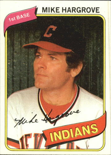 Photo of 1980 Topps #308 Mike Hargrove