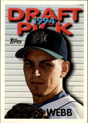 Photo of 1995 Topps #406 Doug Webb RC
