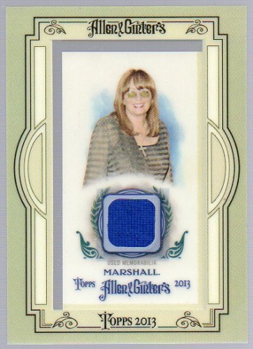 Photo of 2013 Topps Allen and Ginter Framed Mini Relics #PMA Penny Marshall