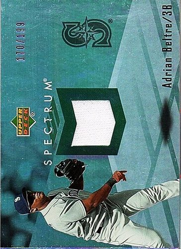 Photo of 2007 Upper Deck Spectrum Swatches #AB Adrian Beltre Jersey /199