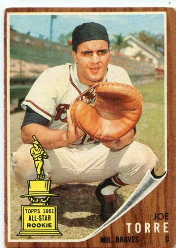 Photo of 1962 Topps #218 Joe Torre Rookie Card