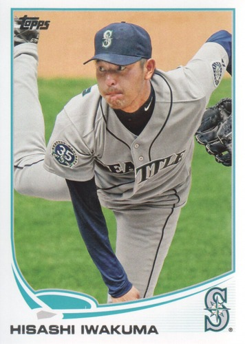 Photo of 2013 Topps #403 Hisashi Iwakuma