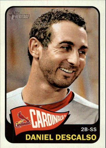 Photo of 2014 Topps Heritage #233 Daniel Descalso