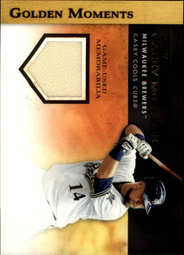 Photo of 2012 Topps Golden Moments Relics #CM Casey McGehee