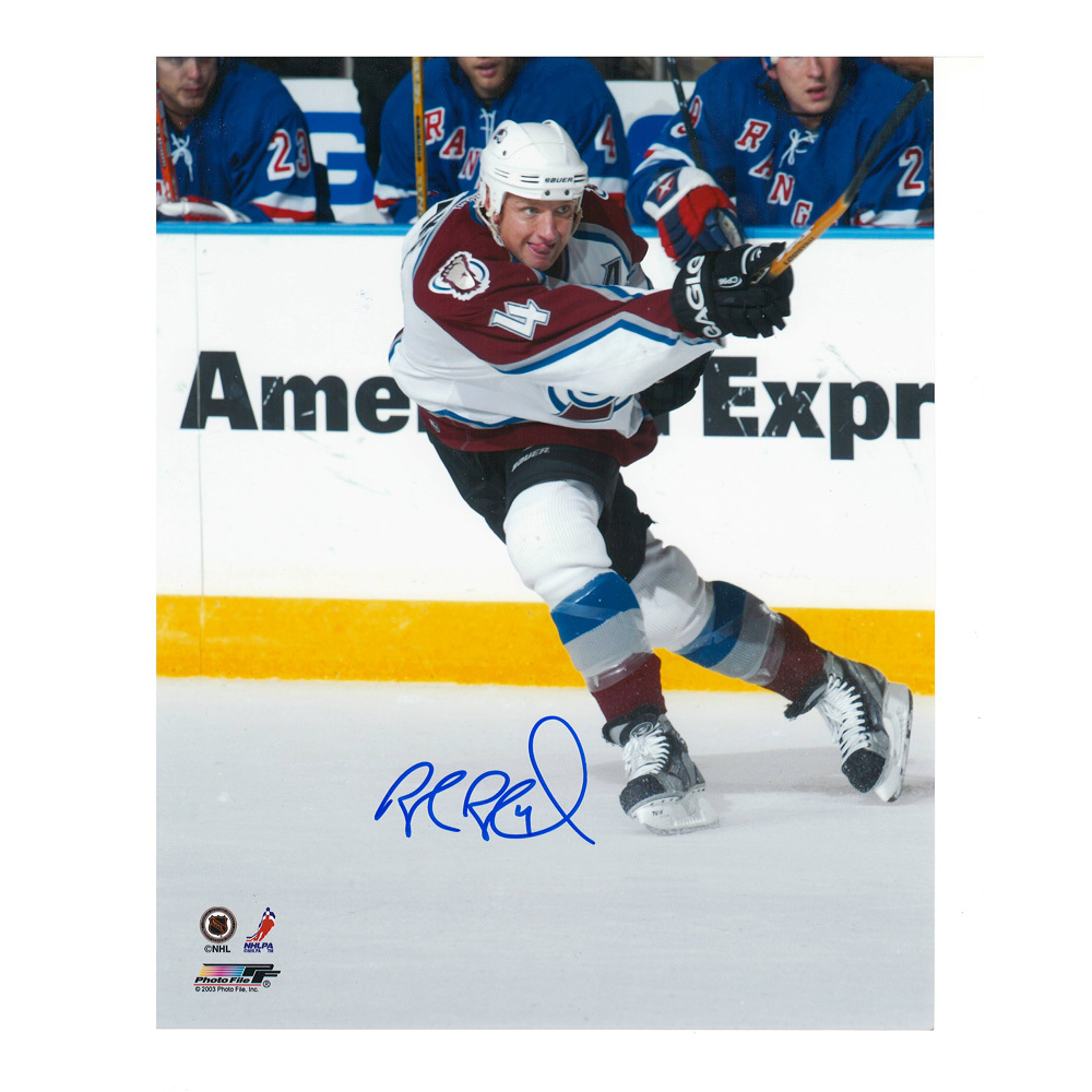 ROB BLAKE Signed Colorado Avalanche 8 X 10 Photo - 70318