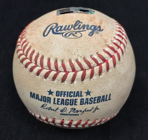 Photo of Game Used Baseball from Pirates vs. Cubs on 9/28/2016 - Taillon to Bryant, Strikeout