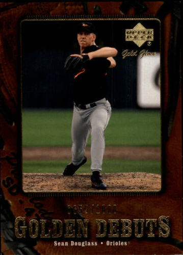 Photo of 2001 Upper Deck Gold Glove #126 Sean Douglass GD RC