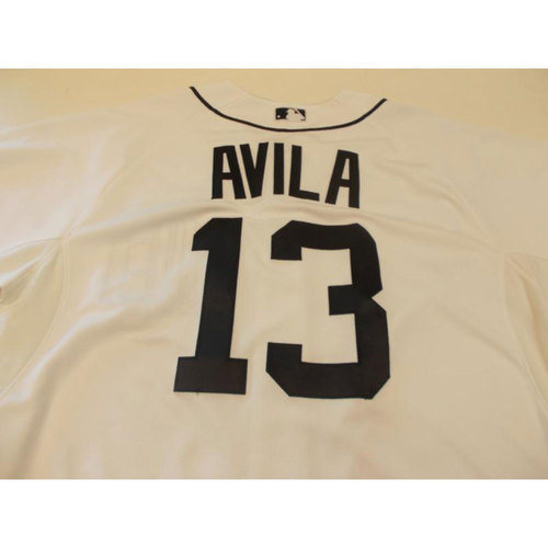 Photo of Alex Avila Home Jersey: 2015 Opening Day