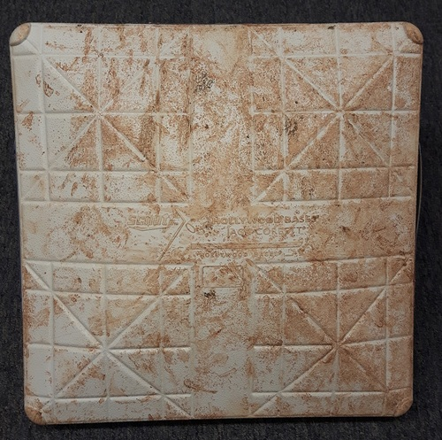Photo of Authenticated Game Used Father's Day Base - 3rd Base for Innings 1-3 (June 18, 2017)