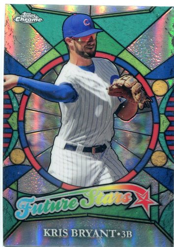 Photo of 2016 Topps Chrome Future Stars Kris Bryant