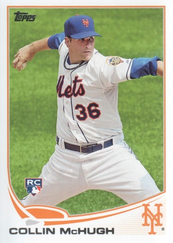 Photo of 2013 Topps #529 Collin McHugh Rookie Card -- Astros post-season