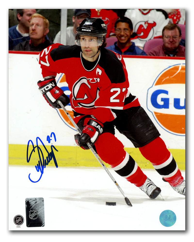 Scott Niedermayer New Jersey Devils Autographed Hockey Captain 8x10 Photo