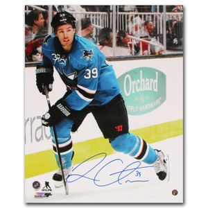Logan Couture Autographed San Jose Sharks 16X20 Photo