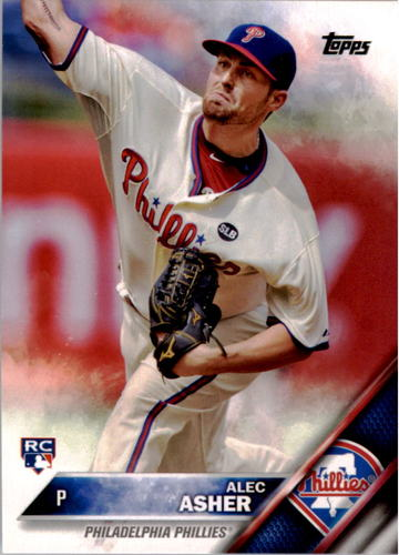 Photo of 2016 Topps #27 Alec Asher RC