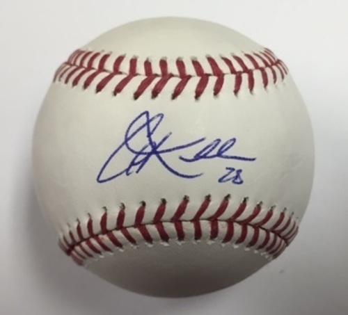 Photo of Corey Kluber Autographed Baseball