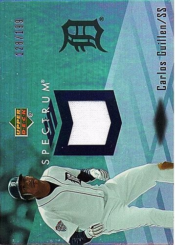 Photo of 2007 Upper Deck Spectrum Swatches #CG Carlos Guillen Jersey /199