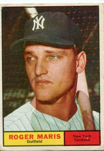 Photo of 1961 Topps #2 Roger Maris