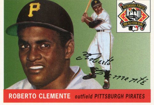 Photo of 1994 FanFest Clemente #4 Roberto Clemente/1954 Topps Archives