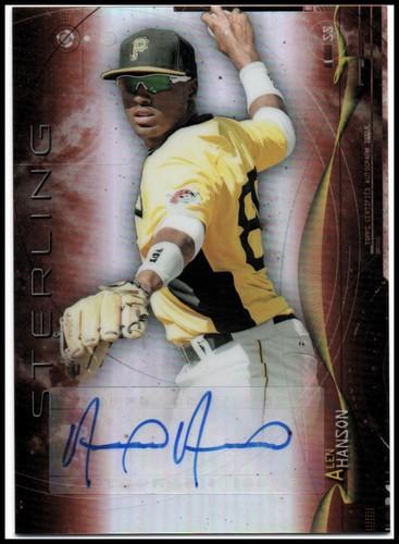 Photo of 2014 Bowman Sterling Prospect Autographs Orange Refractors #BSPAAH Alen Hanson