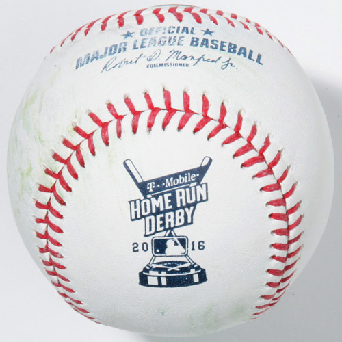 Photo of 2017 All-Star Archive Auction: 2016 Homerun Derby: Batter - Giancarlo Stanton, Final Round, Out