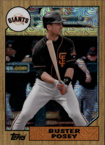 Photo of 2017 Topps '87 Topps Silver Pack Chrome #87BP Buster Posey S2