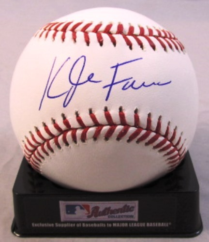 Photo of Kyle Farmer Autographed Baseball