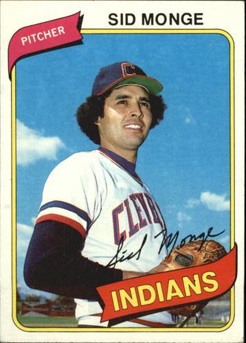 Photo of 1980 Topps #74 Sid Monge