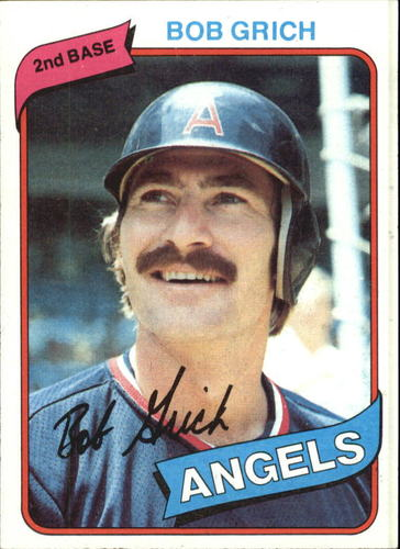Photo of 1980 Topps #621 Bob Grich