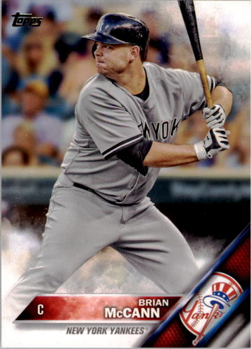 Photo of 2016 Topps #28A Brian McCann