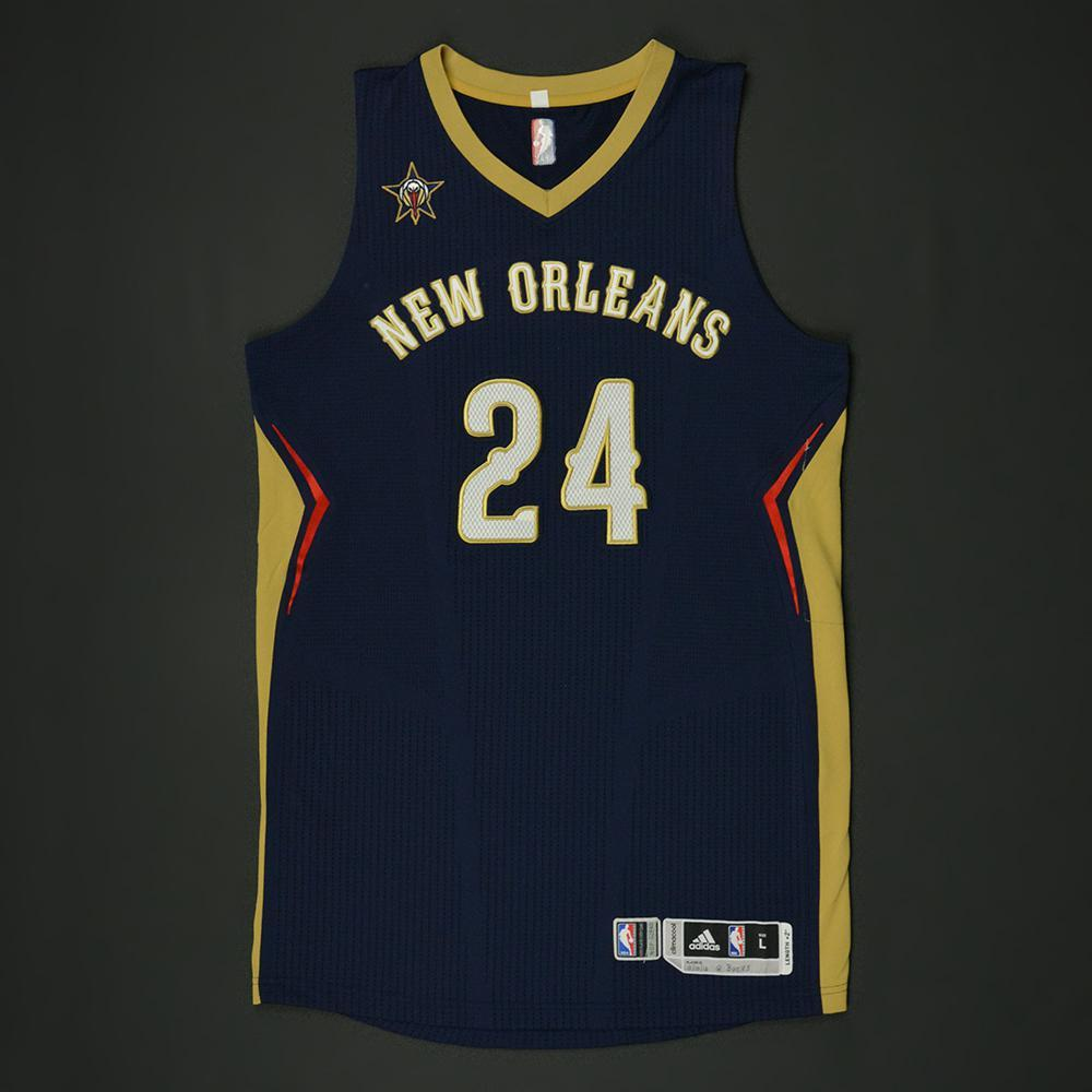 Buddy Hield - New Orleans Pelicans - Game-Worn Regular Season Jersey - 2016-17 Season