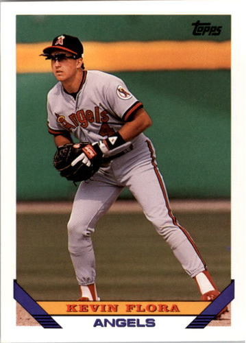 Photo of 1993 Topps #521 Kevin Flora