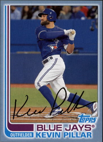 Photo of 2017 Topps Archives Blue #171 Kevin Pillar /75
