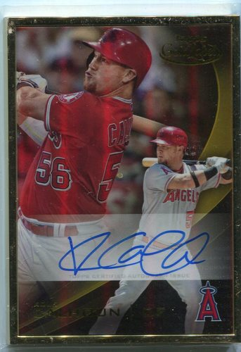 Photo of 2016 Topps Gold Label Framed Autographs Gold Frame Kole Calhoun