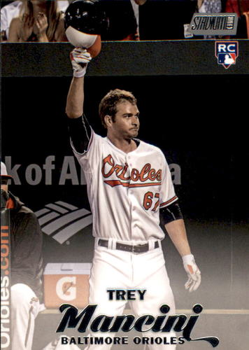 Photo of 2017 Stadium Club #136 Trey Mancini Rookie Card