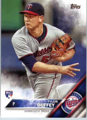 Photo of 2016 Topps #576 Tyler Duffey Rookie Card -- Twins post-season